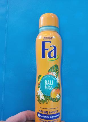 Подарок к покупке от 10 грн-дезодорант fa женский