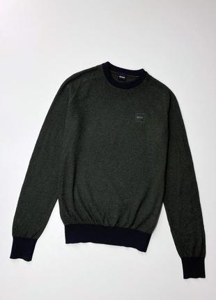Классный мужской свитер hugo boss оригинал