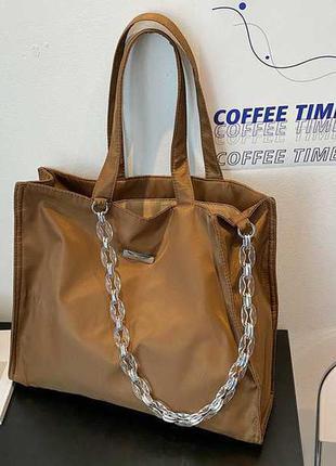 Стильная сумка шопер