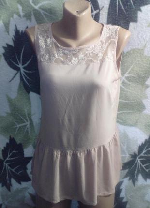 Vero moda блузка платичко платье маечка  удлиненная туника сетка кружево