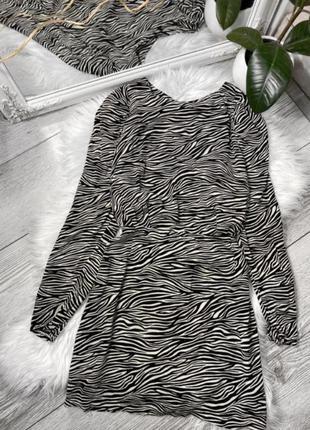 Сукня вискоза 💣💣💣 платье принт зебра