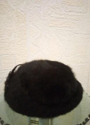 Зимняя шапка кролик
