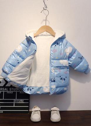 Куртка з пандою