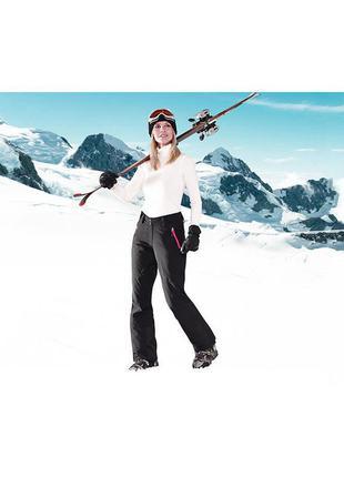 Лыжные штаны softshell зимние брюки,  унисекс, тсм tchibo чибо германия
