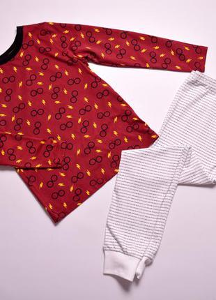Пижама для мальчика george гарри поттер, піжама дитяча в розмірі 116/122, 6-7 років