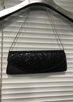 Маленькая вечерняя сумка  на цепочке клатч