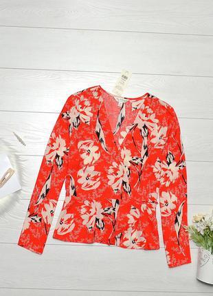 Красива блуза в квіти miss selfridge.
