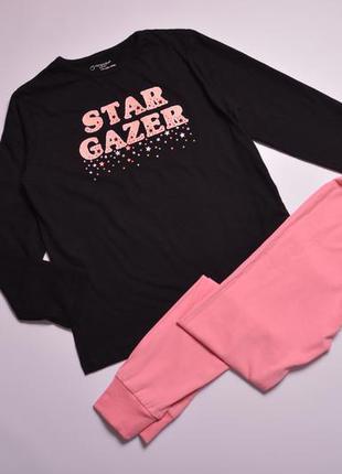 Красивая пижама для девочки в размере 122-128, піжамка для дівчинки 6-8 років