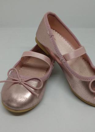 Туфлі туфельки балетки hm на девочку