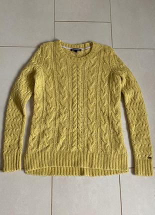 Яркий сочный тёплый и нежный пуловер размер s