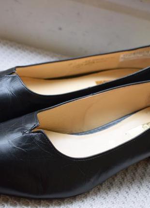 Кожаные туфли балетки лодочки габор gabor р.81/2 р.42/43 28,4 см