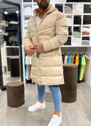 Мужкое пальто куртка длинная