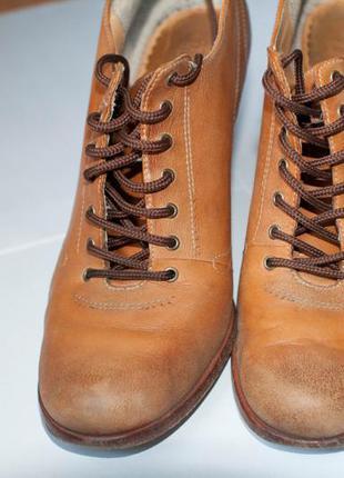 Туфли кожаные timberland