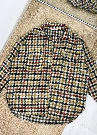 Оверсайз рубашка pull&bear