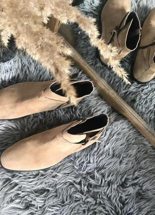 Dune london ботинки кожа, замш