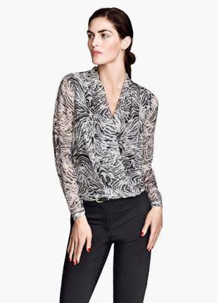 1+1=3 безумно стильная блуза на подкладке