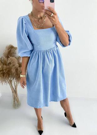Микровельветовые платья