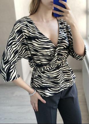 1+1=3 элегантная блуза с рукавом летучая мышь