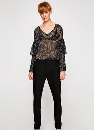1+1=3 легкая блуза