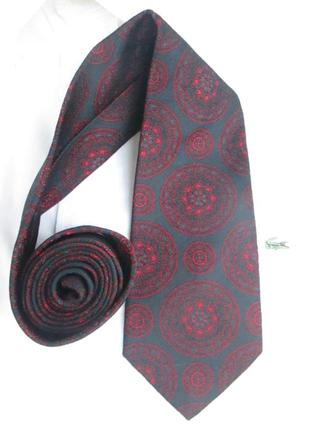 """Фирменный шелковый галстук """" givenchy """" - 8 х 150 см. италия."""