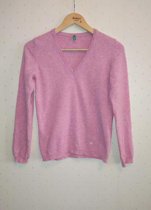Теплый свитер united colors of benetton