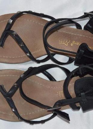 Босоніжки сандалі шкіра atmosphere розмір 38, босоножки сандали