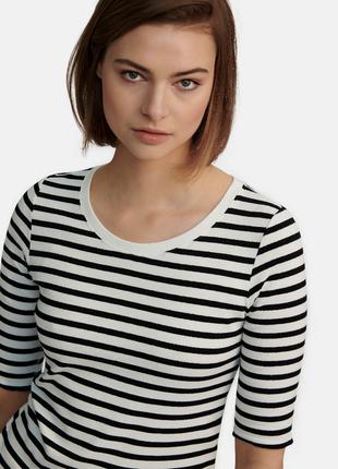 Полосата футболка marc cain