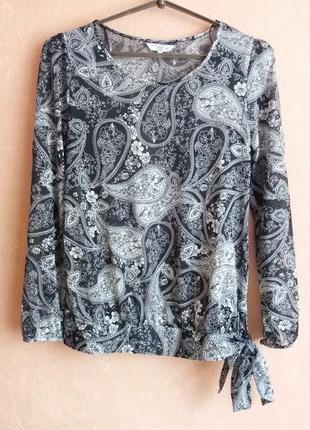 1+1=3 легкая блуза с орнаментом
