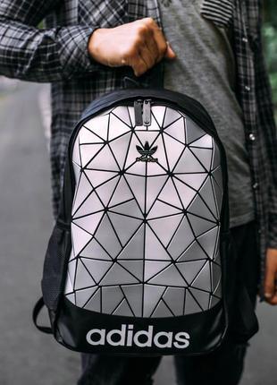 Рюкзак adidas bags silver 22l наплічник адидас 22 літрів серебро