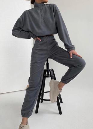 Флісовий костюм жіночий