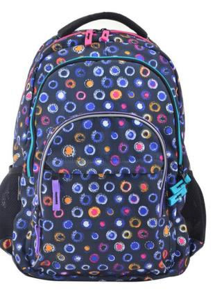 Рюкзак молодежный yes т-43 glare, 42x30x14 (554846)