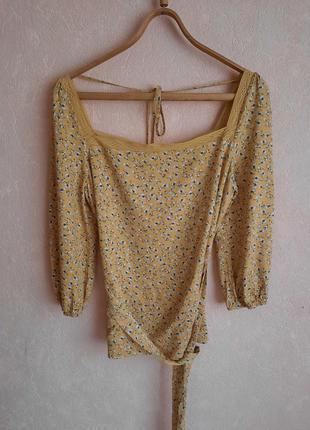 1+1=3 романтическая блуза с поясом