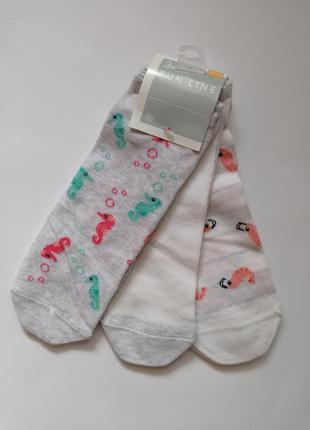Носки женские короткие c&a р.39-42