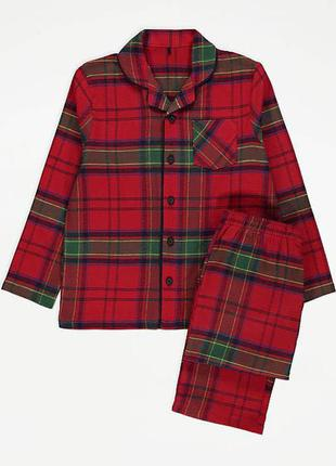 Детские фланелевые пижамы george унисекс