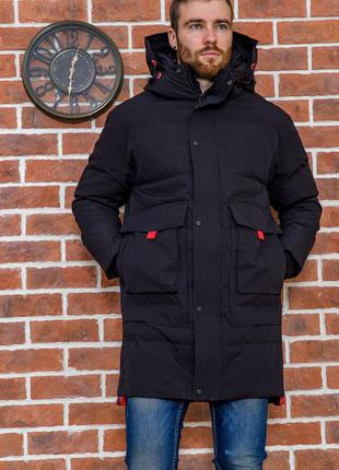 Куртка удлинённая  тёплая демми осень-зима -m l xxl