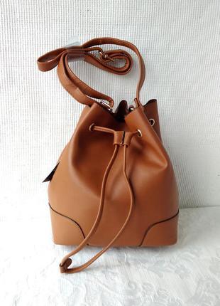 Трендовая сумка-мешок