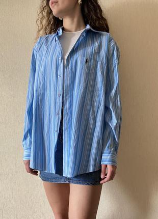 Неймовірна котонова сорочка ralph lauren (оригінал)