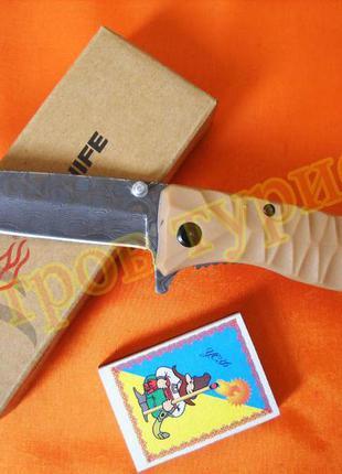 Нож складной firebird  ganzo f620-y2 с травлением