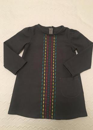 Платье бренда @don.bacon на девочку ростом 110 см