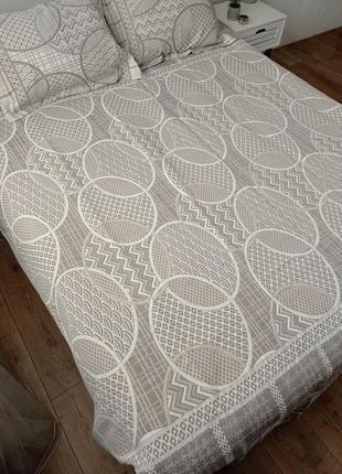 Гобеленовое покрывало на кровать с двумя наволочками 🌸