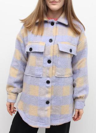 Теплая рубашка куртка