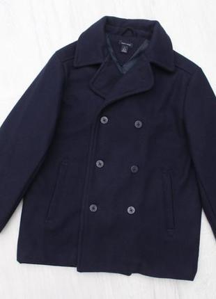 Детское шерстяное пальто tommy hilfiger на 6-7 лет