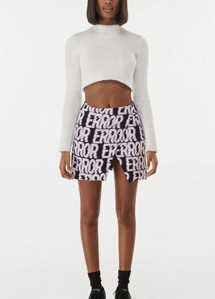 Крутая юбка с принтом от bershka