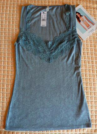 Натуральный набор майка из модала + трусики intimissimi easywear