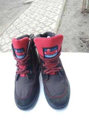 Зимние мембранные сапоги ботинки rohde sympatex р.30 (19 см)