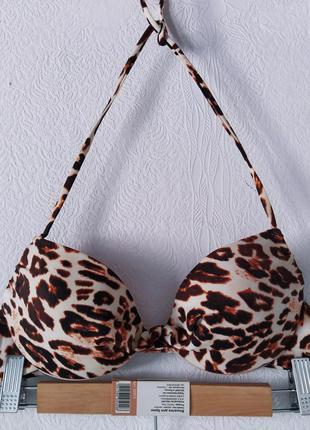 Шикарный леопардовый верх от купальника