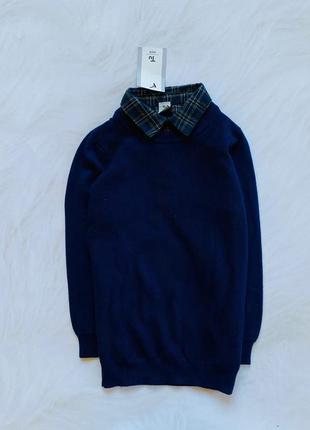 Tu новый стильный свитер на мальчика  5 лет