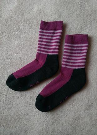 Термошкарпетки з мериносової шерсті 31-34 термо шкарпетки носки шерстяные шерсть мериноса теплые носочки