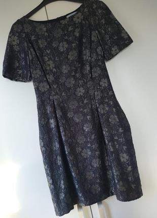 Крута сукня жакард