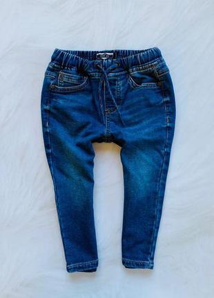 Matalan стильные трикотажные  джинсы  на мальчика  12-18 мес